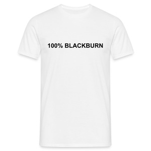 100% BLACKBURN - Men's T-Shirt