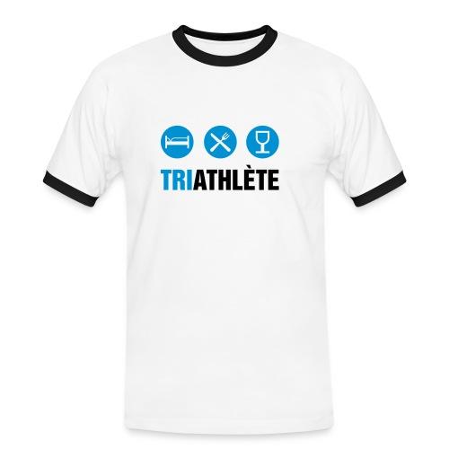 Triathlète - T-shirt contrasté Homme
