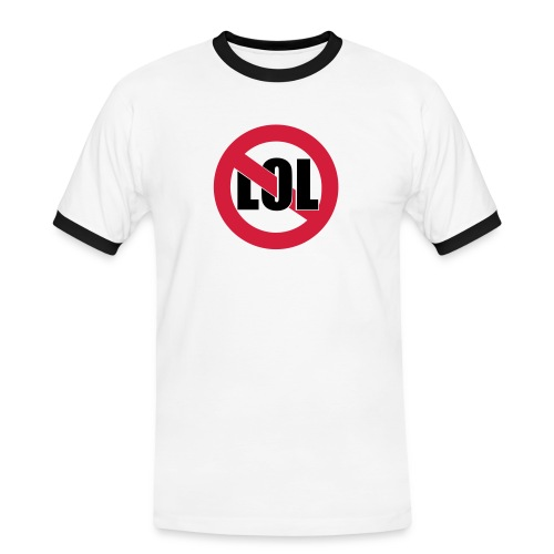 no lol - Men's Ringer Shirt