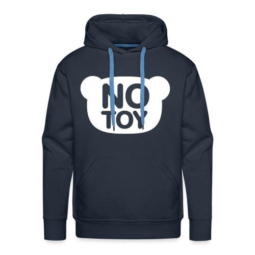 No toy - Premium hettegenser for menn