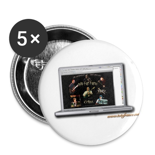 Badges Ordi Toto Fan France - Badge petit 25 mm