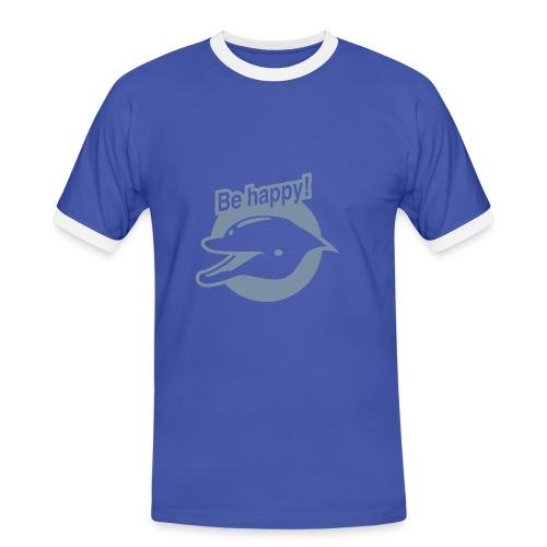 Be Happy - Men's Ringer Shirt