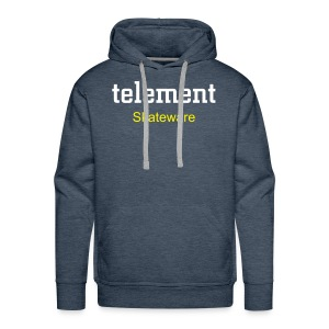 telement skate hoody NEW DESIGN - Men's Premium Hoodie