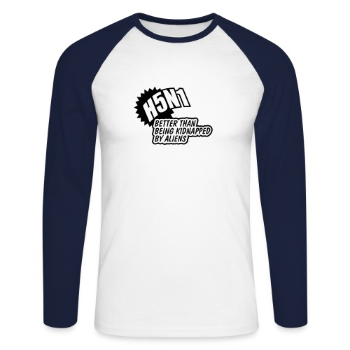 longsleeve h5n1 - Men's Long Sleeve Baseball T-Shirt