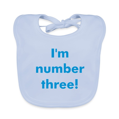 number three - Baby Organic Bib