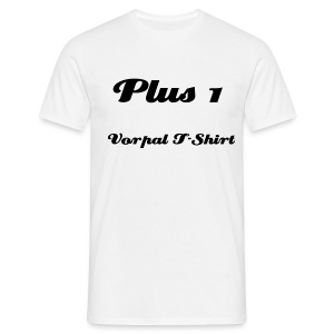 + 1 Vorpal T-Shirt - Men's T-Shirt