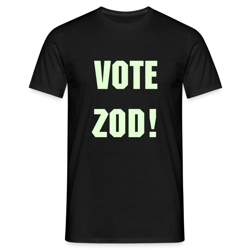 Vote Zod - Men's T-Shirt