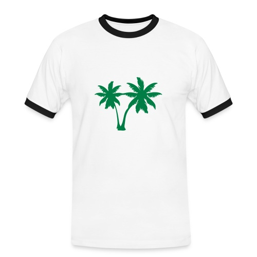 Palmer - Kontrast-T-shirt herr