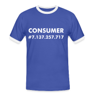 T-Shirts ~ Men's Ringer Shirt ~ Nothing but a consumer