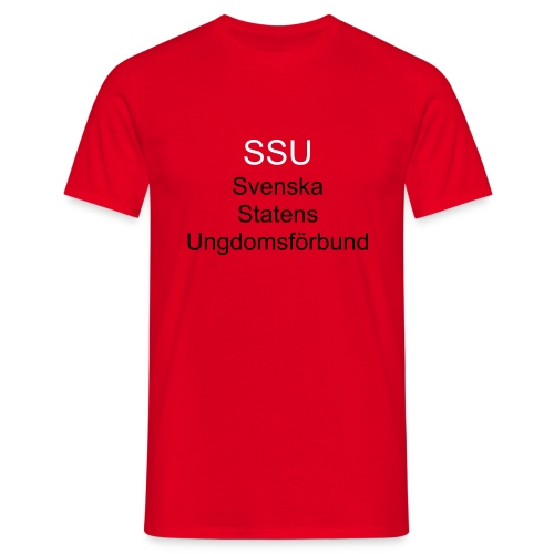SSU, Qu, T-R - Men's T-Shirt