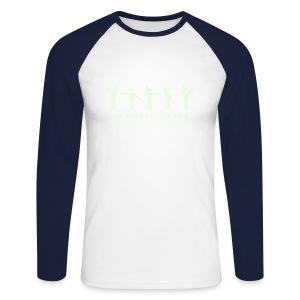 Interface 1 - Men's Long Sleeve Baseball T-Shirt