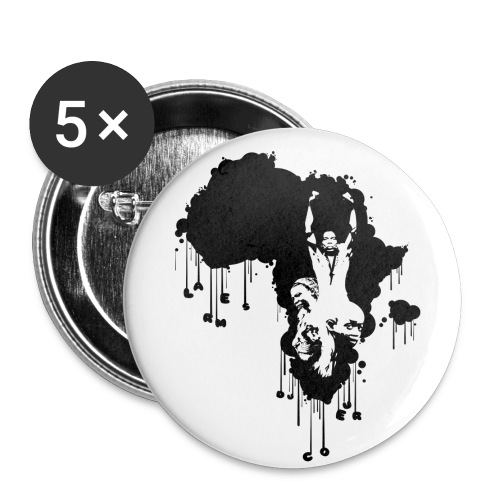 afika badge - Badge moyen 32 mm