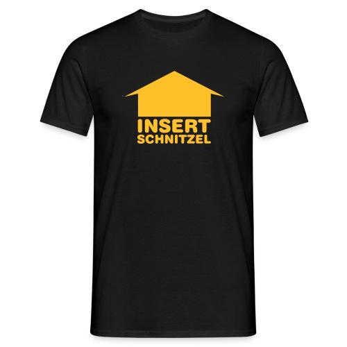 Schnitzelshirt - Männer T-Shirt