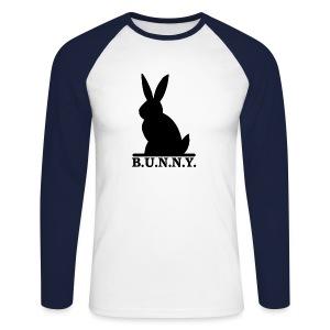 B.U.N.N.Y. - Men's Long Sleeve Baseball T-Shirt