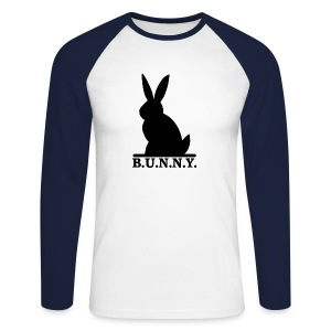 B.U.N.N.Y. - Men's Long Sleeve Baseball T-Shirt