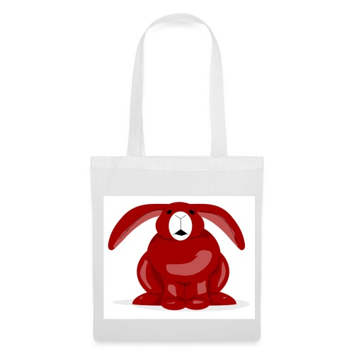 Red Rabbit - Tote Bag