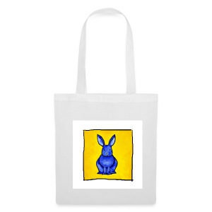 Blue Bunny - Tote Bag