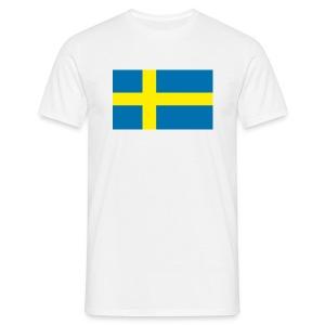 Schwedenflagge - Männer T-Shirt