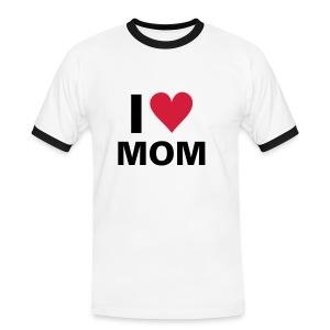 I Heart Mom - Men's Ringer Shirt