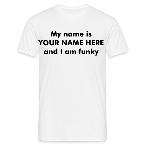 funky T-shirt - Men's T-Shirt