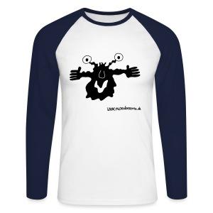Langarmmonster - Männer Baseballshirt langarm