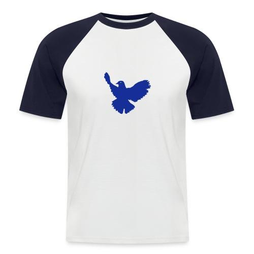 Hanes Raglan Kurzarm nv taube1 - Männer Baseball-T-Shirt