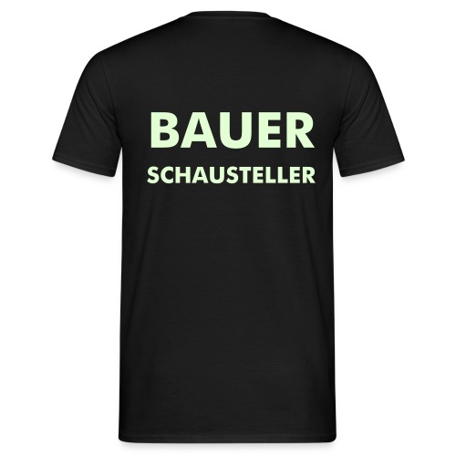 Glow in the dark Shirt - Männer T-Shirt