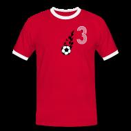 T-Shirts ~ Männer Kontrast-T-Shirt ~ MACH 3