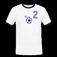 T-Shirts ~ Männer Kontrast-T-Shirt ~ NIMM 2