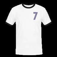 T-Shirts ~ Männer Kontrast-T-Shirt ~ SAND 7