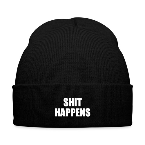Telement Shit Happens Beanie Hat - Winter Hat