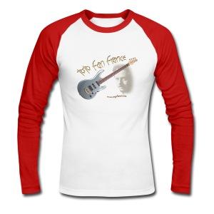 Tee-Shirt Manche Longue Luke & Guitare TFF - T-shirt baseball manches longues Homme
