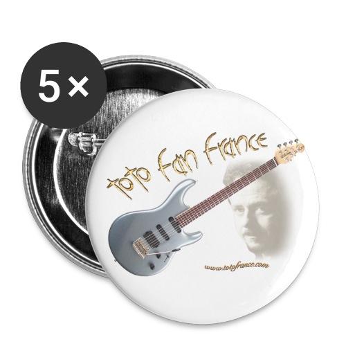 Badges Luke & Guitare TFF - Badge petit 25 mm