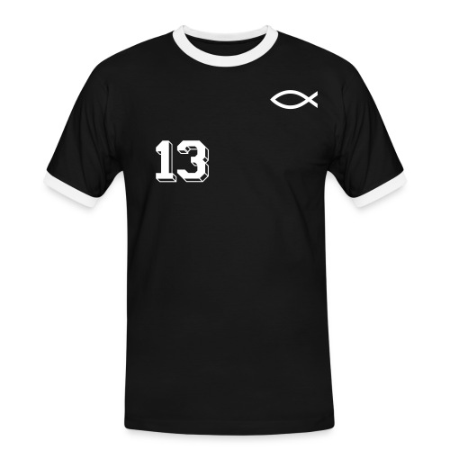 Fish-Team 13 - Mannen contrastshirt