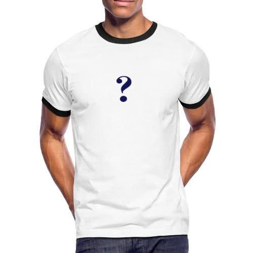 2 FELLOS - Männer Kontrast-T-Shirt