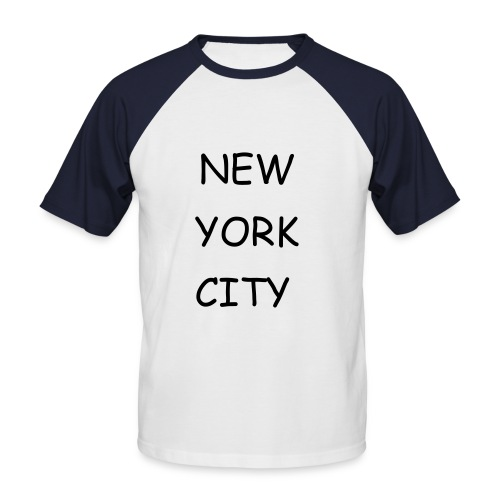 New York City - Männer Baseball-T-Shirt