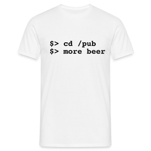 more beer... - Men's T-Shirt
