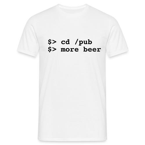 more beer... - Men's T-Shirt