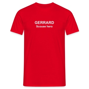 GERRARD Scouse hero - Men's T-Shirt