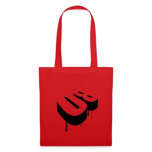 Sac Tissu 08 rouge - Tote Bag