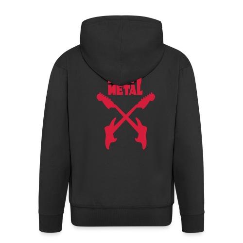 Heavy Metal - Männer Premium Kapuzenjacke