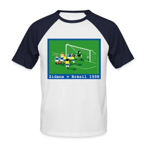 Zindane V Brazil 1998 - Men's Baseball T-Shirt