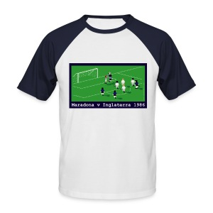 Maradona V England 1986 Hand Of God - Men's Baseball T-Shirt