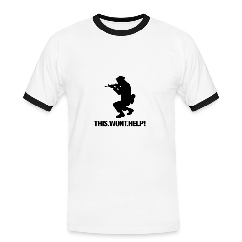 This Wont Help T Shirt - Men's Ringer Shirt