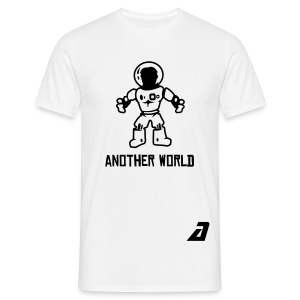 'another world' tee - Men's T-Shirt