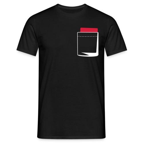 Glow-in-the-dark referee - Men's T-Shirt