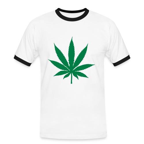 Hanfling - Männer Kontrast-T-Shirt