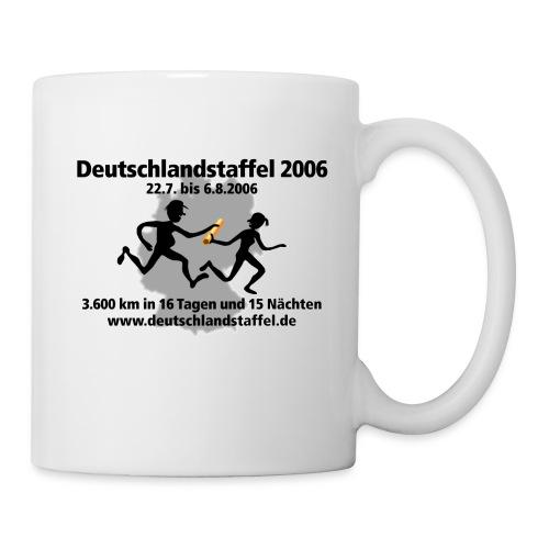 Deutschlandstaffel 2006 Krug - Tasse