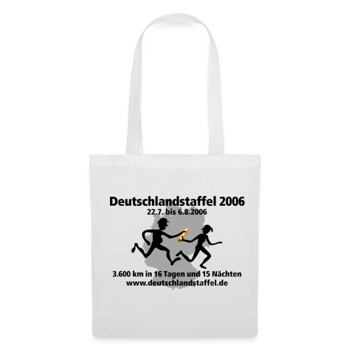 Deutschlandstaffel 2006 Tasche - Stoffbeutel