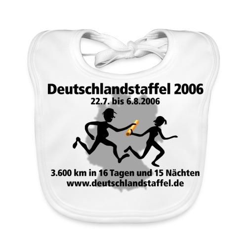 Deutschlandstaffel 2006 Lätzchen - Baby Bio-Lätzchen